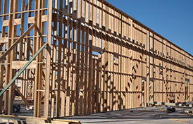 framing of district building