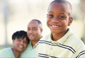 Boy with Parents
